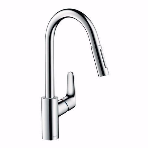 HANSGROHE FOCUS PULLOUT KITCHEN MIXER CHROME