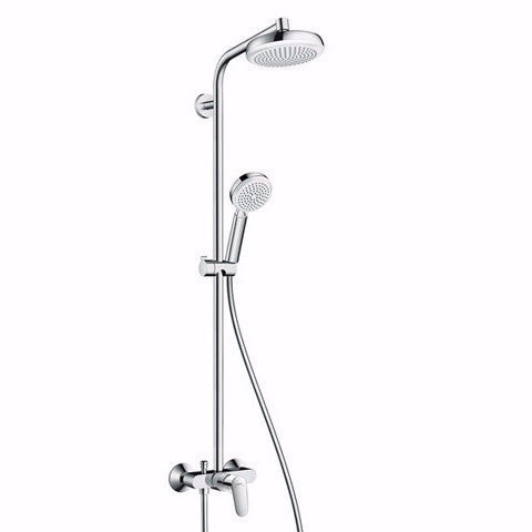 HANSGROHE FOCUS RAIN SHOWER COLUMN