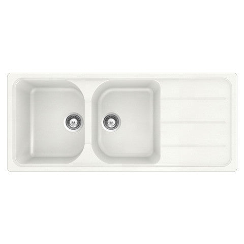 Perfect HERITAGE KAIKOURA ECOGRANIT SINK INSERT 1160 10 2 COLOURS
