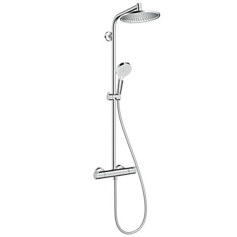 HANSGROHE RAINDANCE S120 THERMOSTATIC SHOWER COLUMN