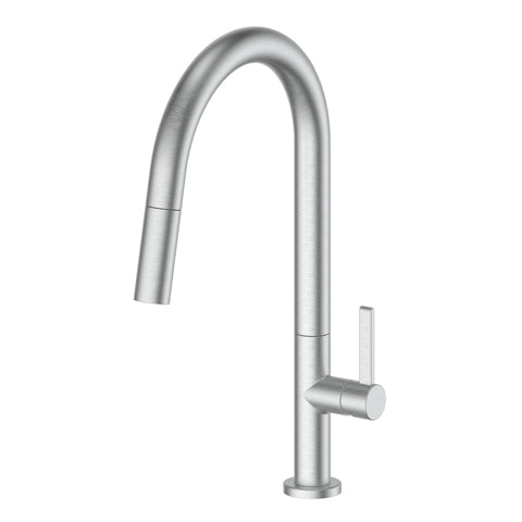 GREENS LUXE PULLOUT SINK MIXER - BRUSHED STAINLESS