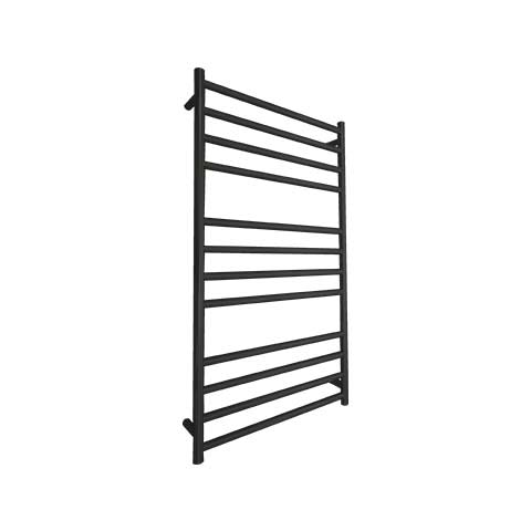 ELITE ODYSSEY HEATED TOWEL LADDER 1200X650MM BLACK