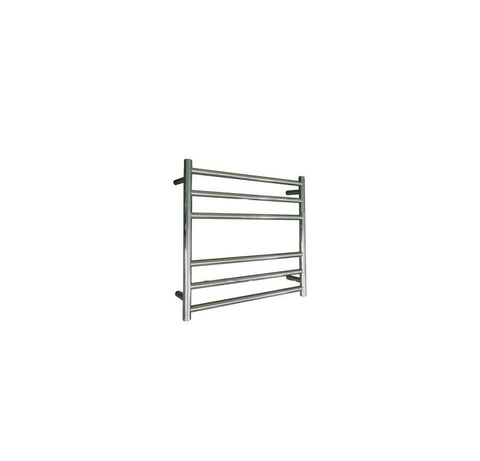 ELITE ROUND HEATED TOWEL LADDER 600X650MM