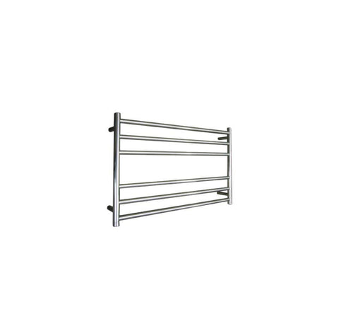 ELITE ROUND HEATED TOWEL LADDER 600X850MM