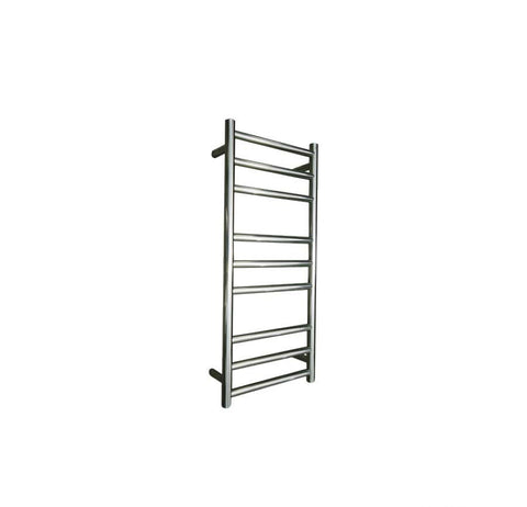 ELITE ROUND HEATED TOWEL LADDER 900X400MM