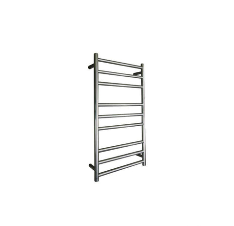 ELITE ROUND HEATED TOWEL LADDER 900X500MM