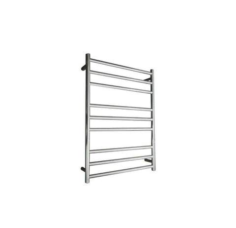 ELITE ROUND HEATED TOWEL LADDER 900X650MM