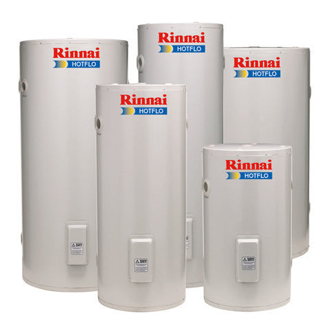 RINNAI HOTFLO HOT WATER CYLINDER RANGE 135, 180, 215, 270, 340L STARTING FROM $949