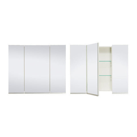 ST MICHEL DANTE DEEP PLUS MIRROR CABINET WHITE 900MM