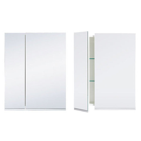 ST MICHEL DANTE PLUS MIRROR CABINET WHITE 600MM
