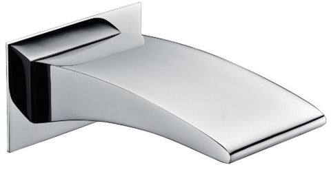 AXIS WALL MOUNTED BATH SPOUT CHROME
