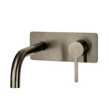 LOFT WALL MOUNTED BASIN MIXER GUN METAL