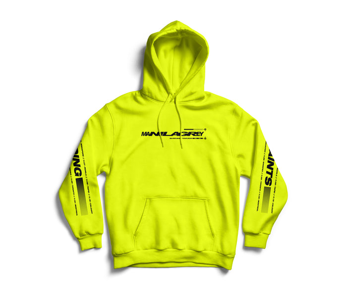 MANILA GREY 'Silver Skies Tour' Hoodie (Volt Yellow)
