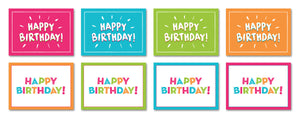 Birthday Cards - 16 Pack