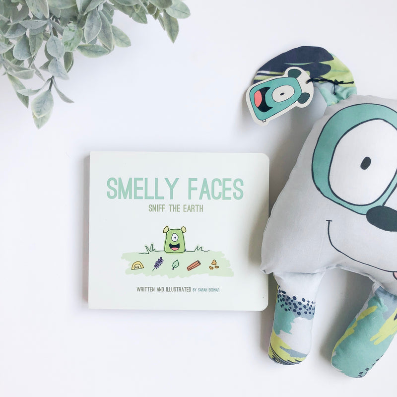 Smelly Faces Sniff The Earth Book