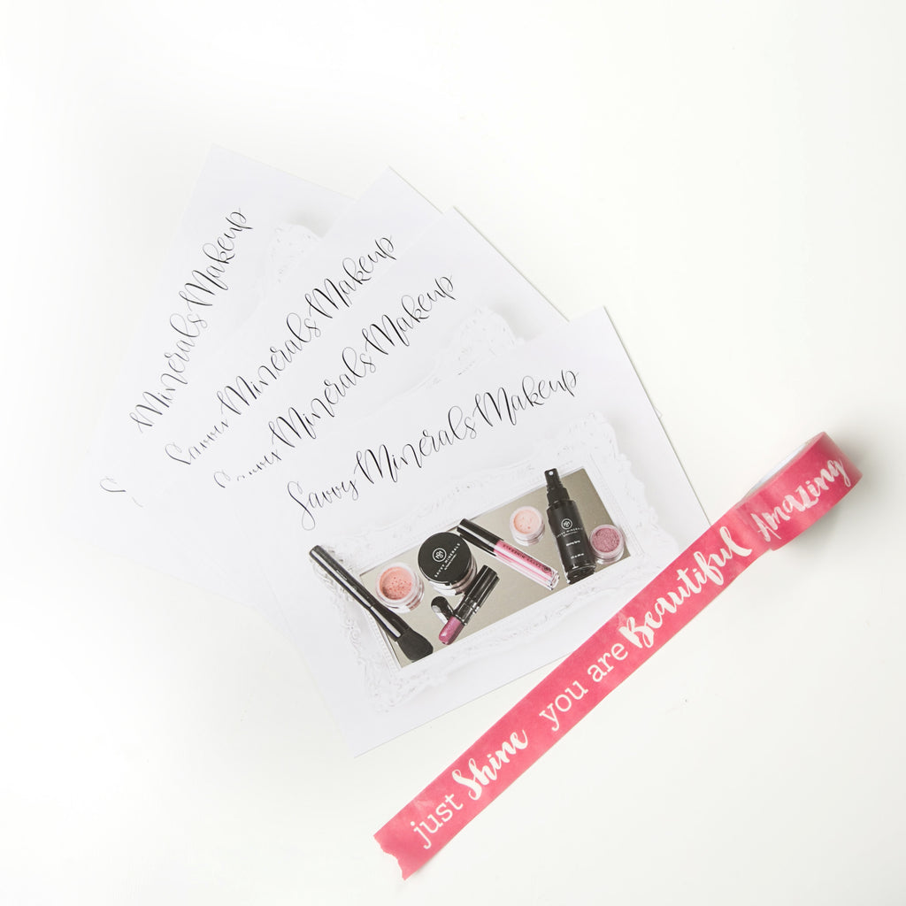 Savvy Minerals Post Card - 50 pk