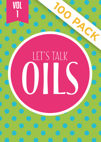 Lets Talk Oils Vol 1 - Pack of 100