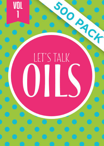 Lets Talk Oils Vol 1 - Pack of 500