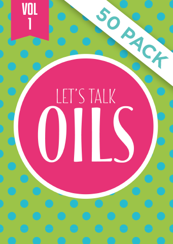 Lets Talk Oils Vol 1 - Pack of 50