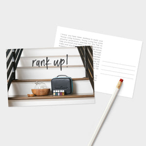 Rank Up! Postcards - 50 pk