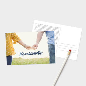 Spouses Unite Post Card - 50 pk