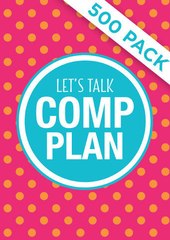 Lets Talk Comp Plan - Pack of 500