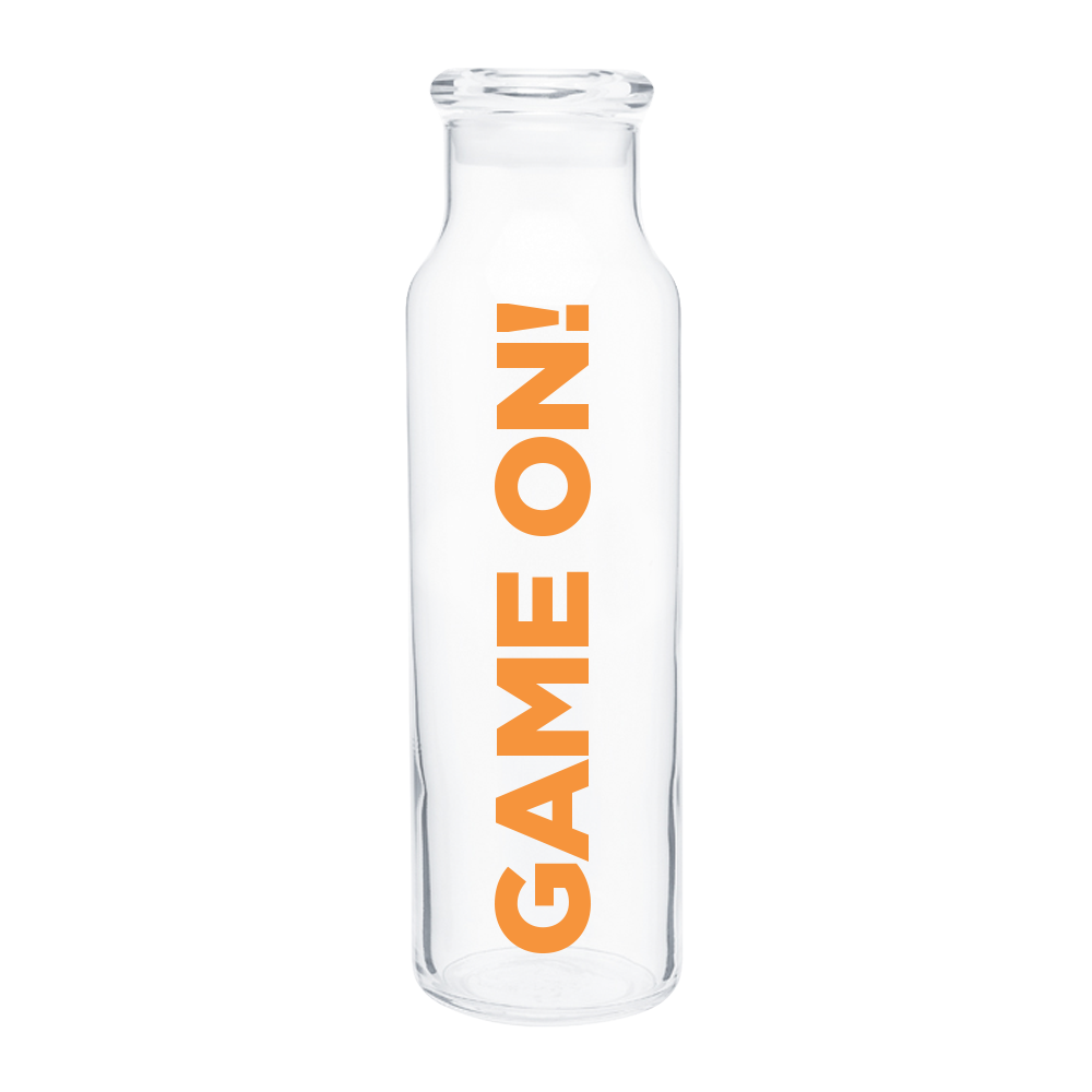 GAME ON Water Bottle - 22oz