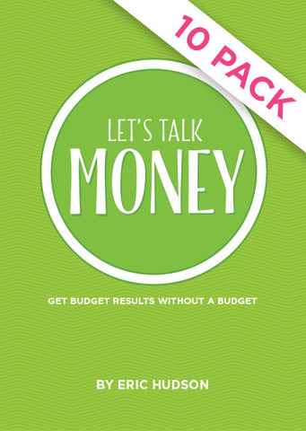 Let's Talk Money - Pack of 10