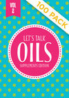 "Lets Talk Oils Vol 2 ""Supplements Edition"""