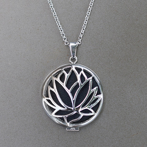 Lotus Pendant (Diffuser Necklace)
