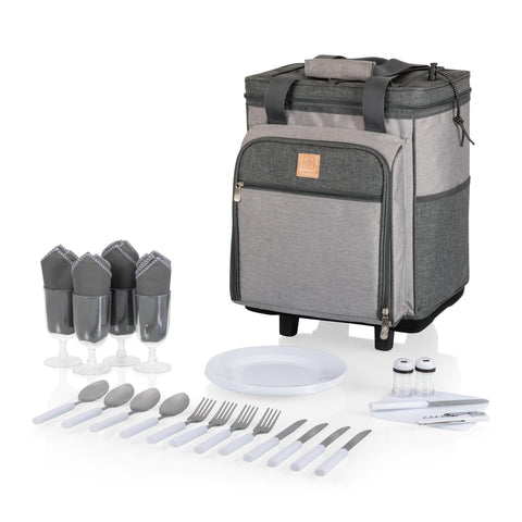 Image of Rolling Picnic Cooler