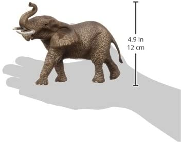 Schleich Wild Life African Elephant Male Educational Figurine