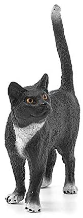 Image of Schleich Cat Standing Toy Figure