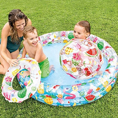 Intex Recreation Circles Fun Inflatable Pool Set