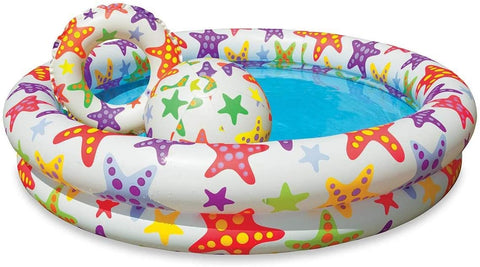 Image of Intex Recreation Circles Fun Inflatable Pool Set