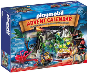 Playmobil 70322 Advent Calendar - Pirate Cove Treasure Hunt