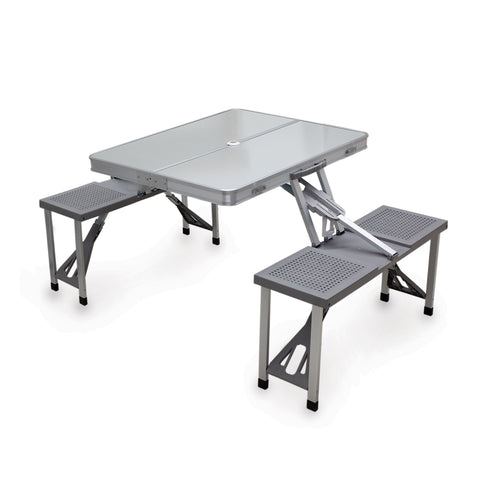Image of ALUMINUM PICNIC TABLE
