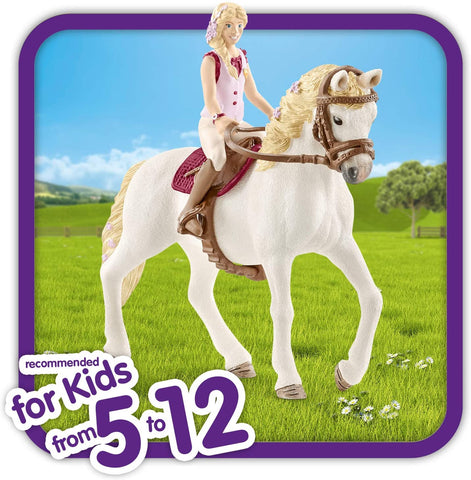Image of Schleich Horse Club Horse Club Sofia and Blossom Educational Figurine