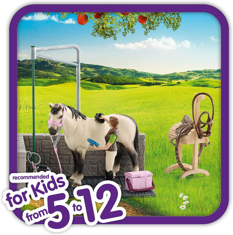 Image of Schleich Horse Wash Area Playset
