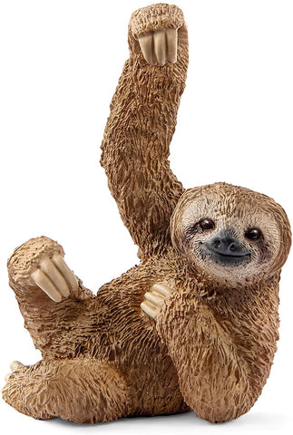 Image of Schleich Wild Life Sloth Educational Figurine