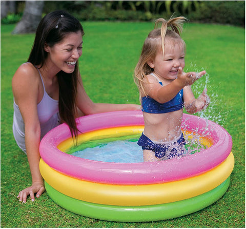 Image of Intex Sunset Glow Baby Pool (34 in x 10 in)