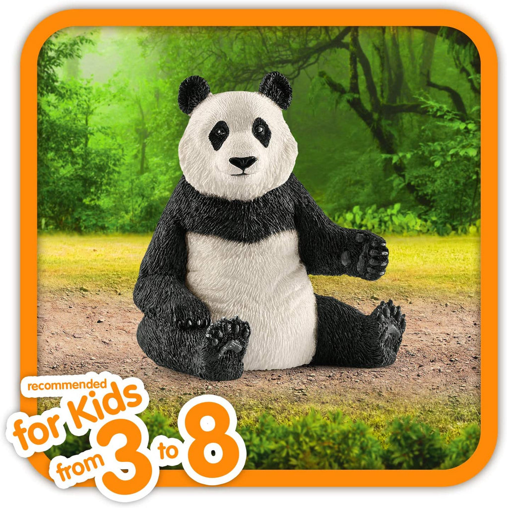 Schleich Wild Life Panda Male Educational Figurine