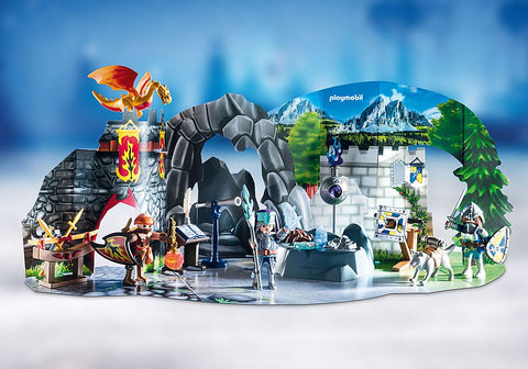 Playmobil 70187 Advent Calendar - Battle for The Magic Stone
