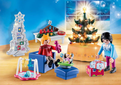 Playmobil 9495 Christmas Living Room