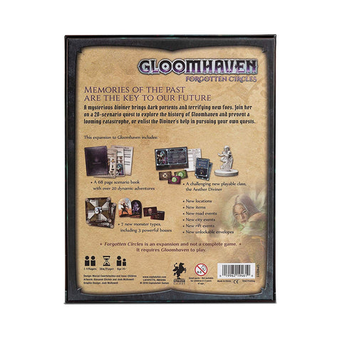 Image of Gloomhaven: Expansion - Forgotten Circles