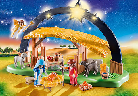 Playmobil 9494 Illuminating Nativity Manger