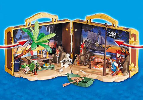 Playmobil 70150 Take Along Pirate Island