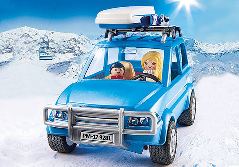 Playmobil 9281 Winter SUV Building Set