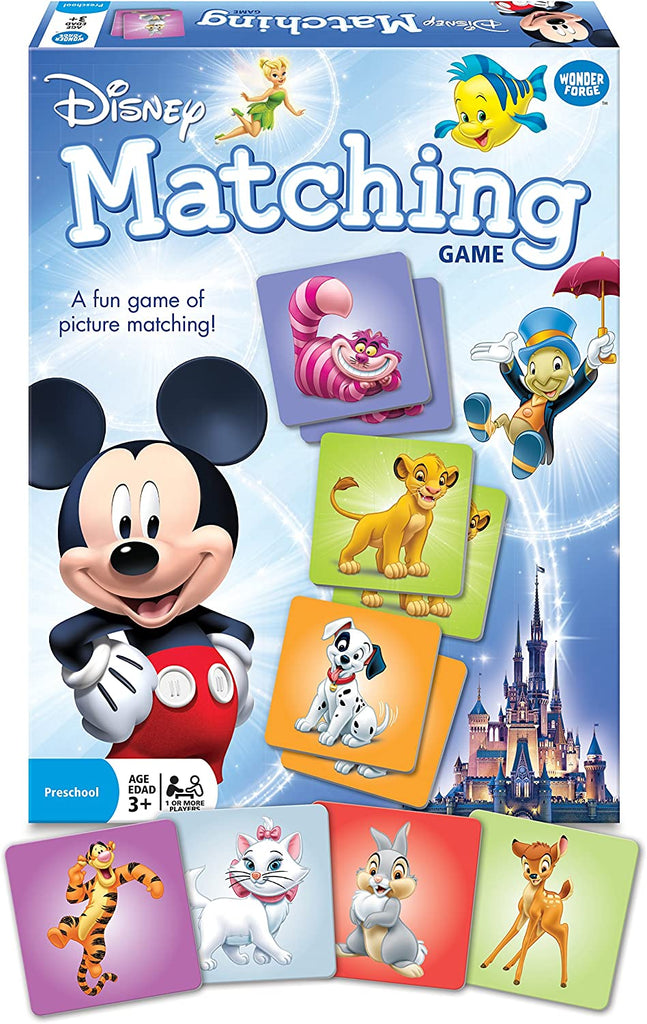 Disney Classic Animals Matching Game