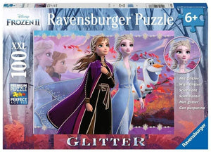 Disney Frozen 2: Strong Sisters - 100 Pieces (Jigsaw Puzzle with Glitter)